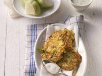 Grated Vegetable Patties recipe