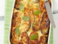 Greek Lamb and Aubergine Bake recipe