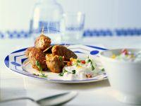 Greek Lamb Rolls with Yogurt Sauce