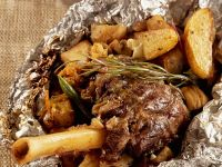 Baked Greek Lamb Leg recipe