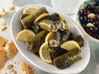 Greek Stuffed Grape Leaves recipe