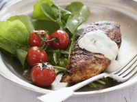 Greek-style Chicken with Leaves recipe