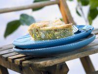 Greek Style Leek Pie with Feta recipe