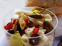 Greek Style Pasta Salad recipe