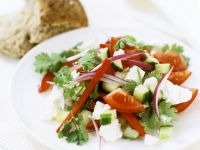 Greek Style Salad recipe
