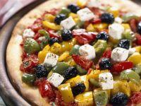 Greek Vegetable Flatbreads recipe