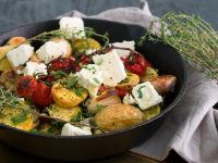 Greek Vegetables with Feta recipe
