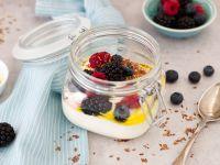 Greek Yogurt with Fruit and Flaxseed recipe