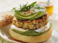 Green Avocado and Chicken Sandwiches recipe