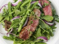 Green Bean and Arugula Steak Salad recipe