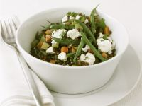 Green Bean and Lentil Salad recipe