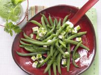Green Bean and Mozzarella Salad