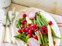 Green Bean Platter with Fruit recipe