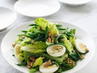 Green Bean Salad with Hard-Boiled Eggs and Walnuts recipe