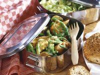 Green Bean Salad with Smoked Salmon recipe