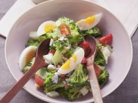 Green Floret and Egg Bowl recipe