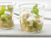 Green Fruit Pudding recipe