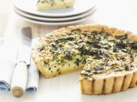 Green Leaf and Egg Tart recipe