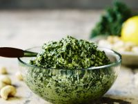 Green Leaf and Nut Sauce recipe