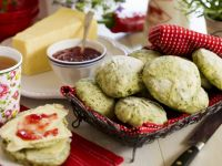 Green Leaf Savoury Cakes recipe