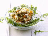 Green Lentil and Arugula Salad recipe