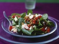 Green Lentil and Feta Salad recipe