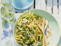 Pasta Salad with Snow Peas recipe