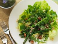 Green Salad with Asparagus recipe