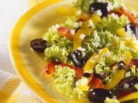 Green Salad with Bell Pepper recipe
