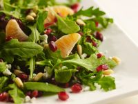 Green Salad with Clementines and Pomegranates recipe