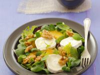 Green Salad with Goat Cheese, Oranges and Walnuts recipe