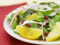 Green Salad with Grapefruit and Pomegranate recipe