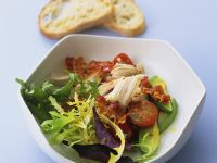 Green Salad with Grilled Chicken recipe