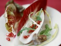 Green Salad with Pomegranate Seeds recipe