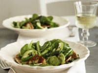 Green Salad with Warm Goats' Cheese recipe