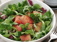 Green Salad with Watermelon recipe