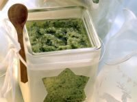 Green Sauce with Broccoli, Watercress and Parsley recipe