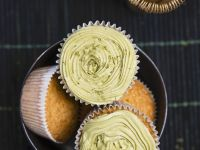 Green Tea Buttercream Cakes recipe