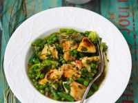 Green Vegetable Curry with Chicken recipe