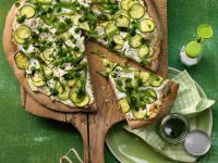 Green Pizza recipe