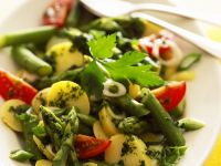 Green Veggie and New Potato Bowl recipe