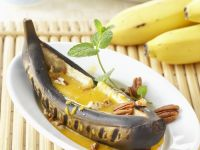 Grilled Bananas with Honey-curry Sauce recipe