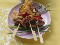 Grilled Beef Skewers recipe
