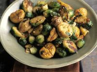 Brussel Sprouts with Chestnuts recipe