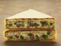 Gourmet Mushroom and Cheese Toasties recipe