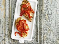 Grilled Chicken and Peppers recipe