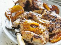 Grilled Chicken and Pineapple recipe
