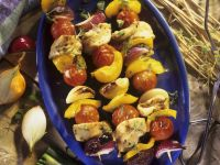 Grilled Chicken and Veggie Skewers recipe