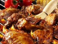 Glazed BBQ Wings recipe
