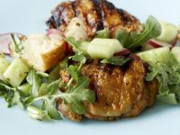 Grilled Chicken with Crunchy Salad recipe